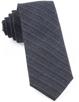 The Tie Bar Whale Blue Assembly Of Stripes Tie