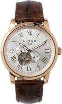 Links of London Noble rose gold-plated watch