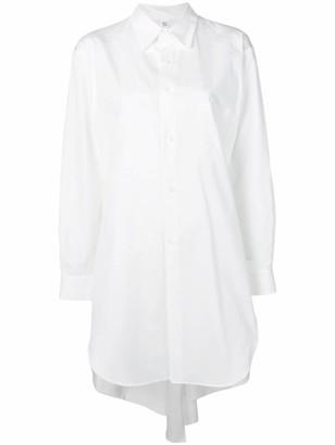 Y's asymmetric hem shirt