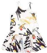 Molo Girl's Camilla Drop Waist Dress