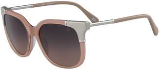 Diane von Furstenberg 56mm Roxanne Square Sunglasses
