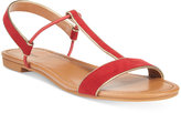 Style&Co. Style & Co Kristee T-Strap Flat Sandals, Only at Macy's
