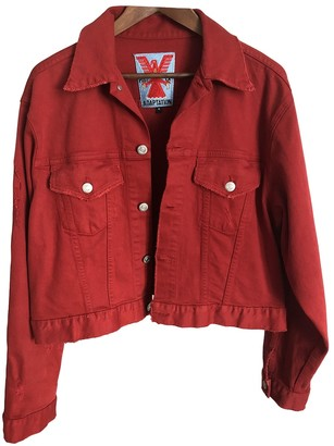 Adaptation Red Denim - Jeans Jacket for Women