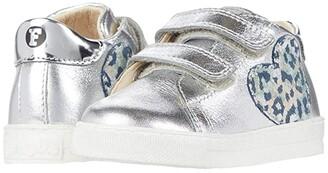 Naturino Falcotto Zenia VL AW20 (Toddler) (Silver) Girl's Shoes