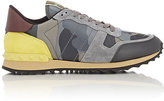 Valentino Men's Camouflage Rockrunner Sneakers-WHITE