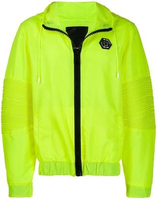 Philipp Plein Neon Hooded Jacket
