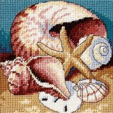 Dimensions Needlecrafts Needlepoint, Shell Collage