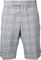 Thom Browne checked shorts