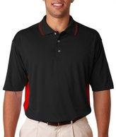 ULTRACLUB 8406 UltraClubAdult Cool & Dry Sport Two-Tone Polo 8406-simple