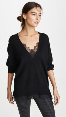 Brochu Walker Lace V Looker Sweater