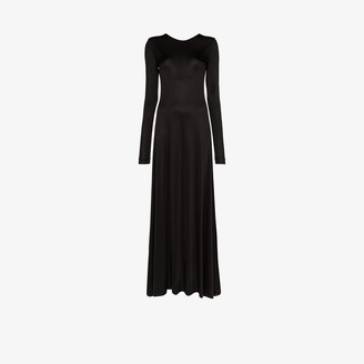 Michael Lo Sordo Low Back Maxi Gown