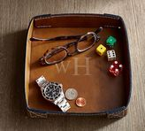 Pottery Barn Leather Catchall
