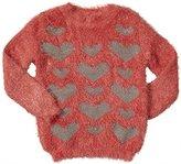 U by Blu Little Girls' Touche Glitter Sweatshirt (Kid)
