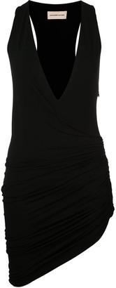 Alexandre Vauthier Ruched Asymmetric Dress