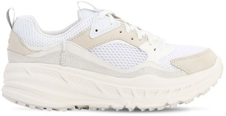 UGG Suede & Mesh Low Top Sneakers