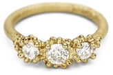 Ruth Tomlinson Three Stone Antique White Diamond Ring