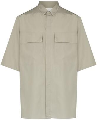 Ermenegildo Zegna x FEAROFGODZEGNA button-up shirt
