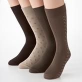 Croft & Barrow Men's 4-pk. Dress Socks