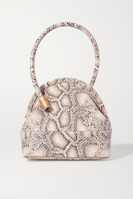 Louise et Cie Isel Snake-effect Leather Tote - Snake print