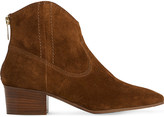 LK Bennett Dylan suede ankle boots