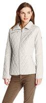 Jessica Simpson Women's Mixed-Quilt Jacket
