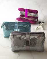 Horchow Metallic Cosmetic Bag