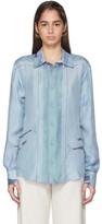 Emilio Pucci Multicolor Silk Hanami Print Shirt