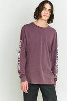 Obey New Times Propaganda Purple Long Sleeve T-shirt