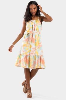 francesca's Samie Tie-Dye Dress - Multi