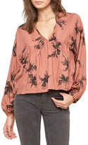 Amuse Society Hutton High/Low Blouse