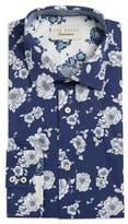 Ted Baker Floral Cotton Dress Shirt