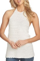 1 STATE Women's 1.state Crochet Halter Top