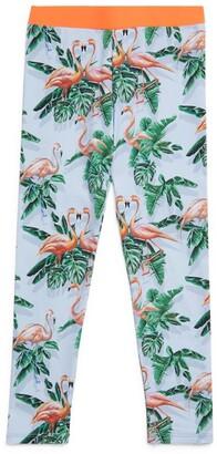 Stella McCartney Kids Flamingo Leggings (3-14+ Years)