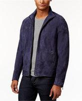 Calvin Klein Men's Slim-Fit Genuine Suede Jacket