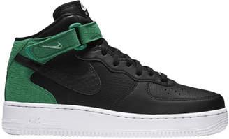 Nike Force 1 '07 Mid Black Green White (W)