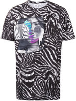 Les Benjamins printed T-shirt - men - Cotton - XS