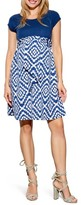 Maternal America Women's Tie Front Maternity Dress