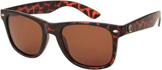 Margaritaville Eyewear Unisex-Adult 3/4 Time Polarized Wayfarer Sunglasses MV7003-A Polarized Wayfarer Sunglasses Red 56 mm