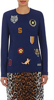 Stella McCartney Women's Team Patches Top-NAVY