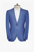 Slim Mid Blue Suit Jacket