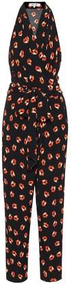 Diane von Furstenberg Pierre floral crepe jumpsuit