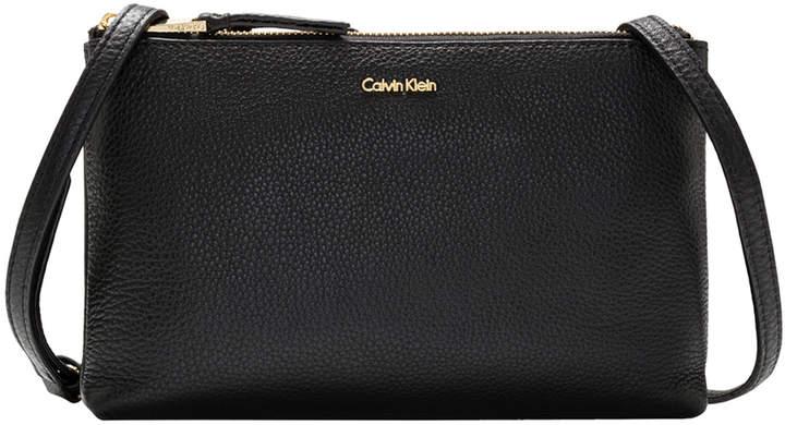 Calvin Klein H7GEA7GU Angelina Zip Top Crossbody Bag