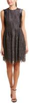 Armani Collezioni Silk-Blend Sheath Dress