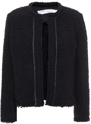 IRO Caster Frayed Boucle-tweed Jacket