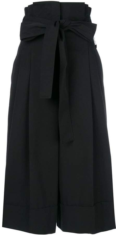 Alexander McQueen tie waist culottes
