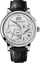 A. Lange & Söhne A. Lange and Sohne Richard Lange Terraluna 180.026 18K White Gold / Leather 45.5mm Mens Watch