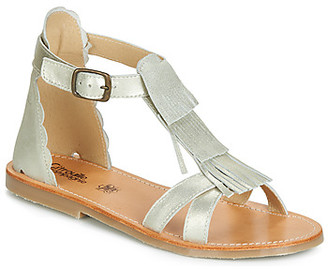 Citrouille et Compagnie JALIPRI girls's Sandals in Silver