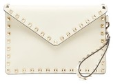 Valentino Garavani - Rockstud Leather Pouch - Womens - Ivory