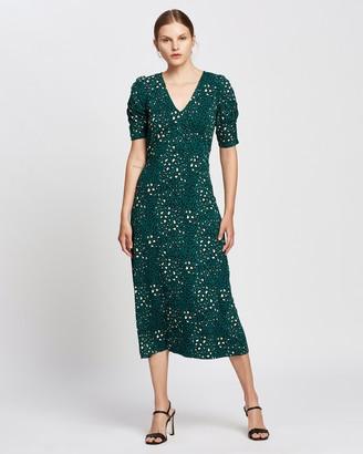 Dorothy Perkins Empire Seam Short Sleeve Midi Dress