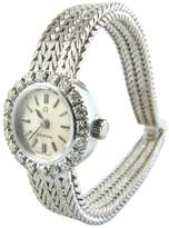 Omega Vintage white gold watch